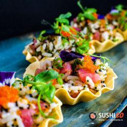 Sushi Constanta sushi tart CWG_3655 chef special sushi tart