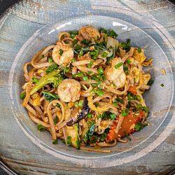 Hibachi Udon Noodles (Shrimp)